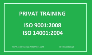Training ISO 9001 2008 14001 2004