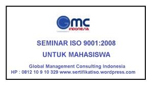 Seminar ISO 9001 Untuk Mahasiswa