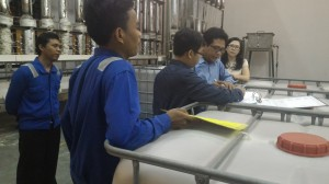 Tim CHI sedang memberikan penjelasan