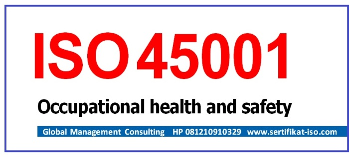 ISO 45001 20016