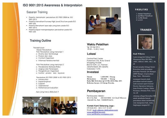 ISO 9001 2015 Training 2