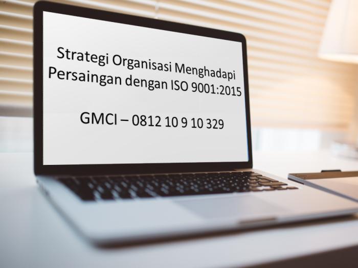 Strategi ISO 9001 2015