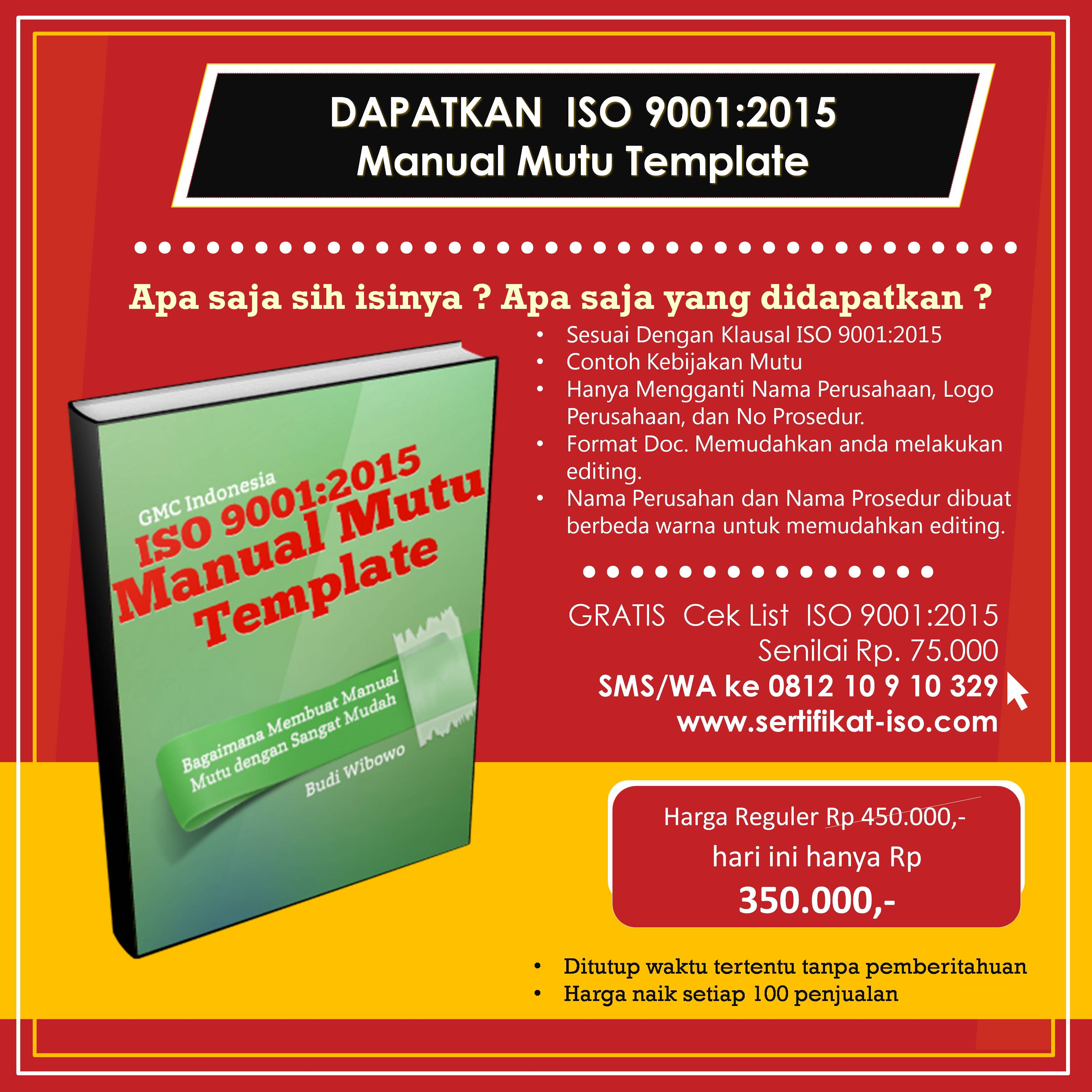iklan manual mutu template square 1