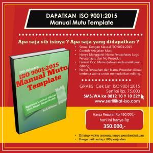 Manual  Mutu ISO 9001:2015 pdf