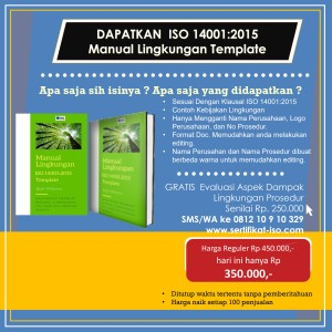 manual lingkungan ISO 14001:2015 template