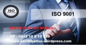 Sertifikat ISO MURAH